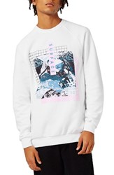 Topman Men's Graphic Sweatshirt