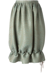Jean Paul Gaultier Vintage Ballon Skirt Green