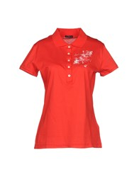Zu Elements Polo Shirts Red