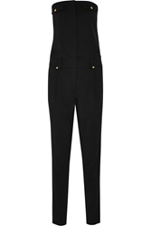 Versus Anthony Vaccarello Strapless Wool Jumpsuit