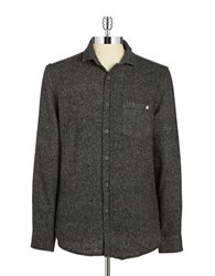 Ndk Active Tweed Button Front Shirt
