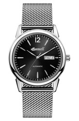 Ingersoll New Haven Automatic Mesh Strap Watch 40Mm