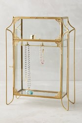 Anthropologie Standing Jewelry Cabinet Bronze