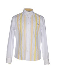 Harmont And Blaine Shirts White