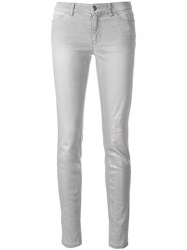 Marc Cain Slim Fit Trousers Grey