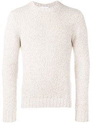 Cruciani Crewneck Sweater Nude And Neutrals