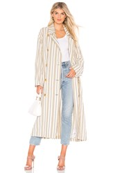 Free People Sweet Melody Trench Cream