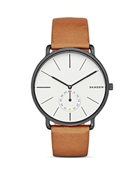 Skagen Hagen Leather Watch 40Mm