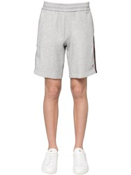 Moncler Cotton Sweatshorts Grey