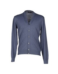 Hackett Knitwear Cardigans Men Pastel Blue