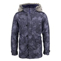 Lords Of Harlech Mod Parka In Charcoal Grey