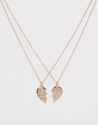 Skinnydip Skinny Dip Rose Gold Alma Necklace