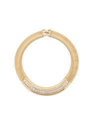 Givenchy Vintage Statement Collar Gold