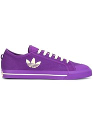 Raf Simons Adidas By Lateral Logo Sneakers Pink Purple