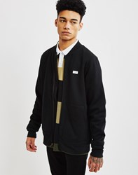 The Hundreds Zip Up Sweatshirt Black