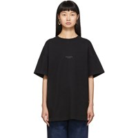 Acne Studios Black Jaxon T Shirt