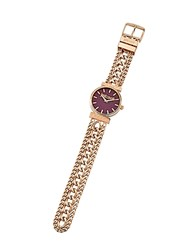 Just Cavalli Couture Rose Gold Tone Stainless Steel Women's Watch
