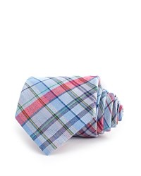 Thomas Pink Padday Check Woven Classic Tie Blue Multi