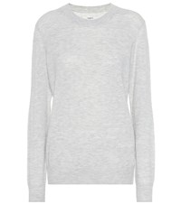Etoile Isabel Marant Blizzy Alpaca And Wool Blend Sweater Grey
