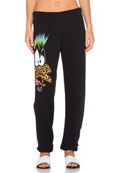 Lauren Moshi Tanzy Punk Daffy Sweatpant Black