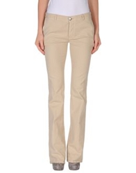Mauro Grifoni Denim Pants Beige