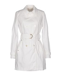 Les Copains Coats And Jackets Full Length Jackets Women White