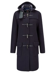 Gloverall Long Original Fit Duffle Coat Navy