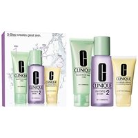 Clinique 3 Step Skincare 2 Introduction Kit Dry Combination