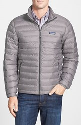 Men's Patagonia Water Repellent 800 Fill Power Down Sweater Jacket Feather Grey Forge Grey