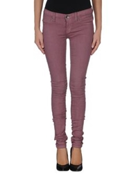 Dr. Denim Jeansmakers Denim Pants Maroon