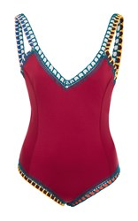 Kiini Soley One Piece Swimsuit Red