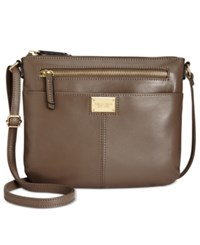 Tignanello Showstopper Small Crossbody Shiitake