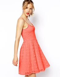 Asos Skater Dress In Daisy Lace