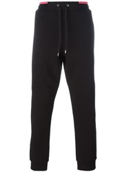 Mcq By Alexander Mcqueen Stitched Logo Track Pants Black