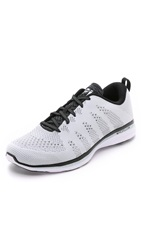 Apl Athletic Propulsion Labs Techloom Pro Running Sneakers White Black Cosmic Grey