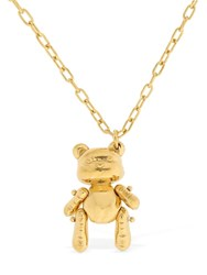 Ambush Inflated Teddy Bear Necklace Gold