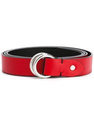 Golden Goose Deluxe Brand Buckled Belt Women Leather One Size Red