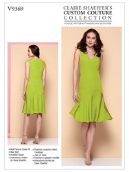 Vogue 'S Flared Dress Sewing Pattern 9369