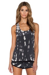 Gypsy 05 Racer Back Tank Charcoal