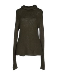 Hemisphere Turtlenecks Military Green