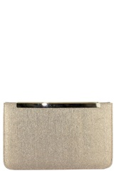 Menbur Metallic Clutch Sand
