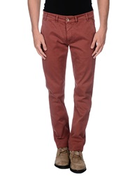 No Lab Casual Pants Brick Red