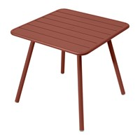 Fermob Luxembourg Garden Table Red Ochre