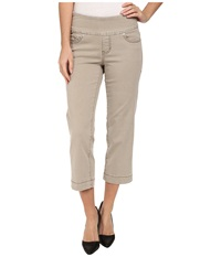 Jag Jeans Caley Classic Fit Crop Heritage Twill Stucco Women's Jeans Khaki