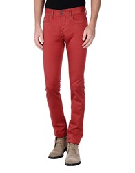 0 Zero Construction Trousers Casual Trousers Men Maroon