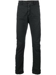 Poeme Bohemien Unseen Pocket Slim Trousers Black