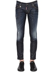 Dsquared 16.5Cm Clement Stretch Denim Jeans