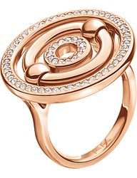 Folli Follie Bonds Rose Gold Plated Sparkle Ring