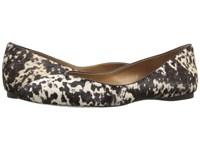 French Sole Peppy Pony Haircalf Women's Flat Shoes Animal Print