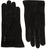 Our Legacy Suede Gloves Black